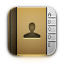 address book, contacts icon