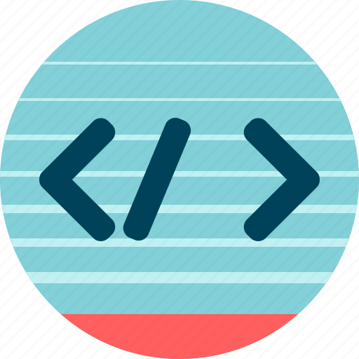 code, development, front-end, html, markup language, tags icon