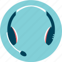 audio, audio device, communication, headset, help desk icon