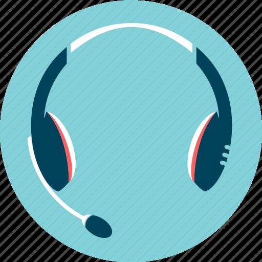 audio, audio device, communication, headset, help desk icon