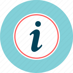 about, data, info, information, instruction icon