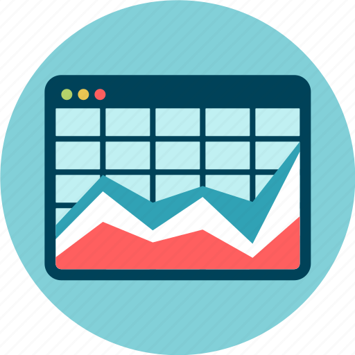 chart, data visualization, outcome, results, statistics, table icon