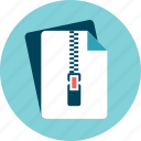 bundle, compact, compress, file, zip icon