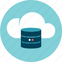 cloud, data, data base, information, storage icon