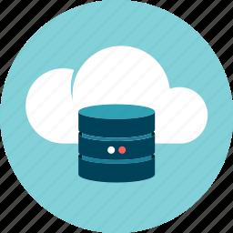 cloud, data, data base, information, storage icon