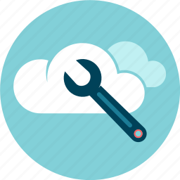 cloud, maintenance, support, technical service icon