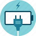 battery, electricity, empty, power, uncharged icon