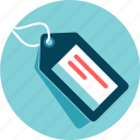 badge, information, label, price tag, ticket icon