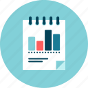 bar chart, graphic, performance, results, statistics icon