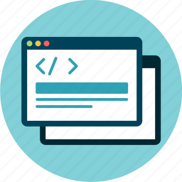 browser, code, development, front-end, html, markup icon