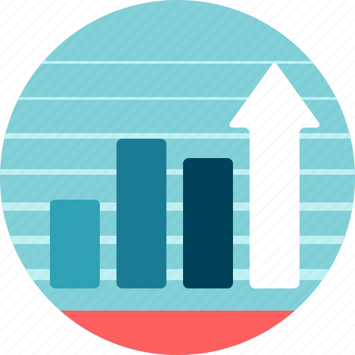 bars, chart, columns, data, finance, graph, grow, outcome, results, stats icon