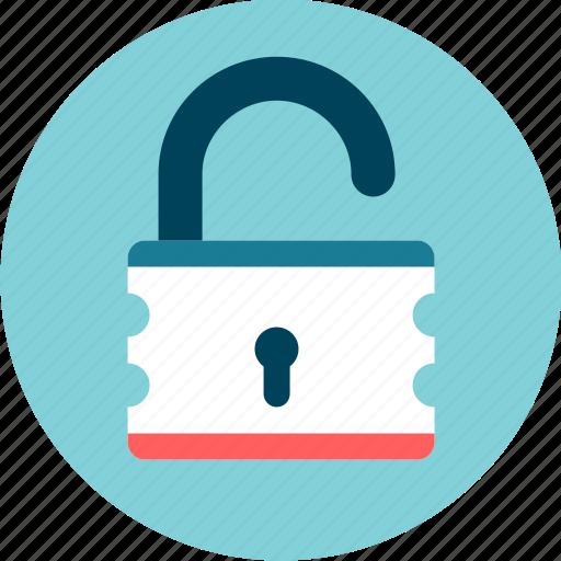 locker, security, unlock, unsafe icon