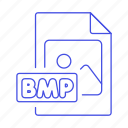 bmp, file, files, format, image icon