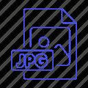 file, files, format, image, jpg icon