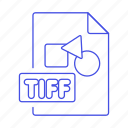 file, files, format, image, tiff icon
