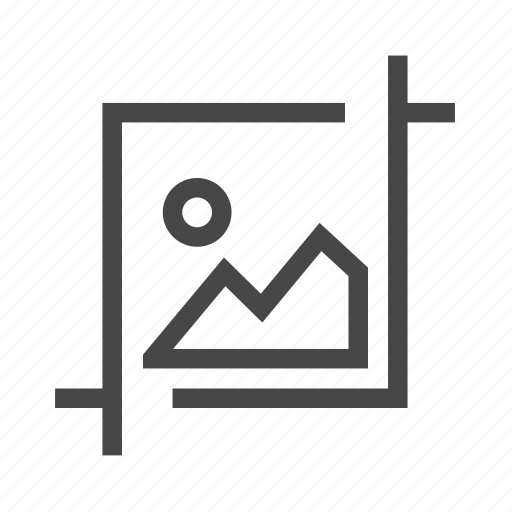 crop, design, editing, image, layout, photo editing icon