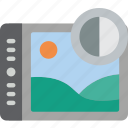 contrast, enhancement, image, image enhancement, image processing icon