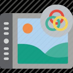 enhancement, hsl, image, image enhancement, image processing icon