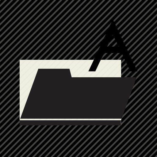data, file, folder, fonts icon