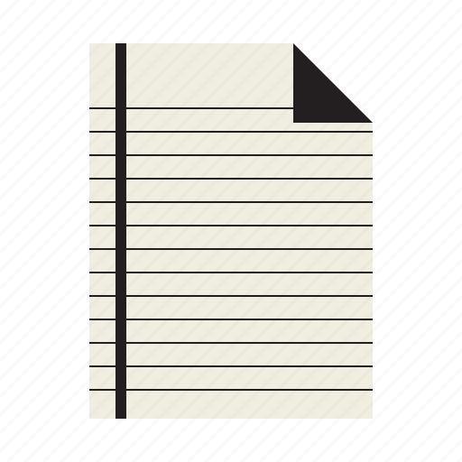 document, notepad, sheet, text icon