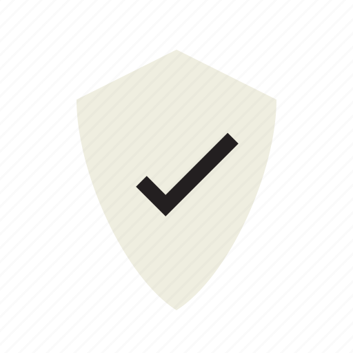 check, safe, shield, verified icon