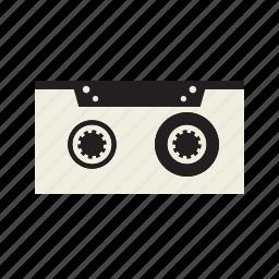 cassette, record, tape icon