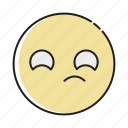 angry, devices, emoji, furious, handdrawn, hate, jealous icon