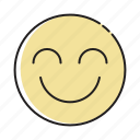 avatar, emoji, emoticon, emotions, imote, smile, smiling icon