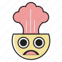 angry, avatar, emotions, face, imote, people, stress icon
