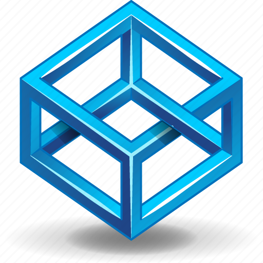 cube, escher, impossible, object, shape, solid icon