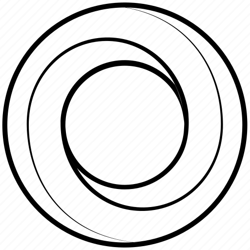 circle, impossible, möbius, object, penrose, shape, solid icon