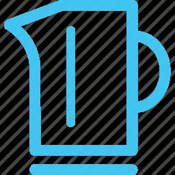 electric kettle, kettle, water boiler icon