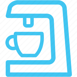 coffee machine, coffeemaker icon