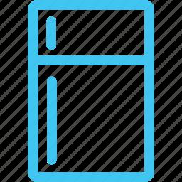 fridge, refrigerator icon