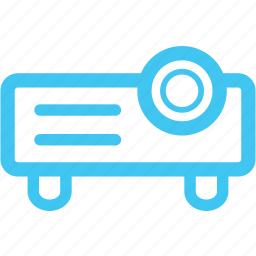 beamer, projector, video projector icon