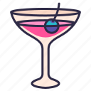 alcohol, bar, cocktail, drink, night, nightclub, party icon