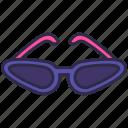 cool, fashion, funky, glasses, nightclub, party icon