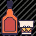 alcohol, bar, drink, liqueur, night, nightclub, party icon