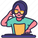 dance, dj, edm, male, music, nightclub, party icon