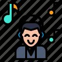 hearken, listen, music, song, sound, to