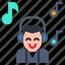 hearken, listen, music, song, to