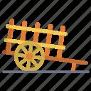 bullock, cart