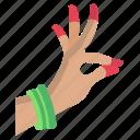hand, gesture
