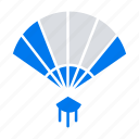 china, chinese, fan, hand icon
