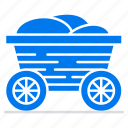 cart, food, bangladesh, trolley