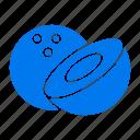 coconut, food icon