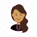 .svg, advogada, emprego, indian woman professions, job, lawyer, mulher, professions, trabalho, work icon