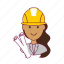 .svg, architect, arquiteta, emprego, indian woman professions, job, mulher, professions, project, projeto, trabalho, work icon