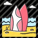 activity, beach, extreme, recreation, surf, surfboard, watersport