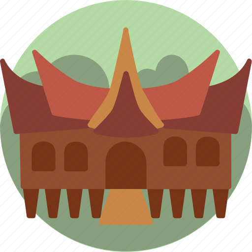 house architecture padang indonesia icon download on iconfinder house architecture padang indonesia icon download on iconfinder
